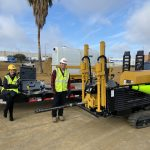 Bruno and Sarah get in the job training on operations of directional drilling.